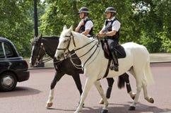 Police montée Londres photos stock