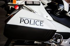 Police Motor Stock Photography