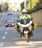 Police motorbike Royalty Free Stock Photos