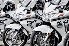 Police Motorcycle Stock Images
