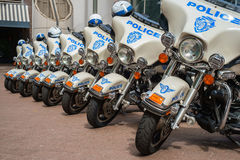 Police motorcycles Royalty Free Stock Image