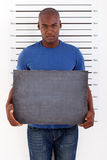 Police mug shot Royalty Free Stock Photography