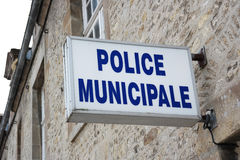 Police municipale Royalty Free Stock Image