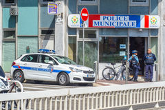 Police municipale, Nice, France. Stock Photography