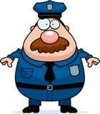 Police Mustache Royalty Free Stock Photos