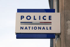 Police nationale Nancy France Stock Photo