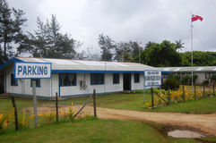 Police office building, Kingdom of Tonga Stock Photo