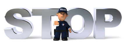 Police officer Royalty Free Stock Images