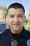 Police Officer. Portrait of a confident male police officer smiling Stock Photography