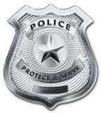 Police Officer Badge Stock Photos