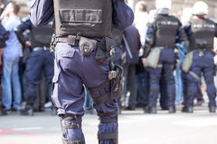 Police officer on duty. Counter-terrorism. Stock Photography