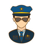 Police officer icon image design Stock Photography