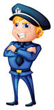 A police officer Stock Photo