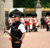 Police officer in London Stock Photo