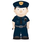 Police officer new york Stock Photography