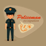 Police officer, policeman Stock Images
