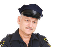 Police Officer Portrait Royalty Free Stock Image