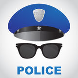 Police officer selfie Royalty Free Stock Image