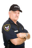 Police Officer - Suspicious royalty free stock images