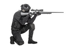 Police officer SWAT Royalty Free Stock Photography