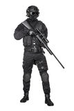 Police officer SWAT Stock Photo