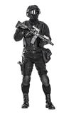Police officer SWAT Stock Images
