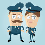 Police officer team Stock Photo