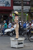 Police officer in Vietnam Royalty Free Stock Photos