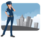 Police Officer Stock Image