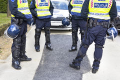 Police officers Stock Image