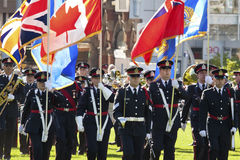 Police officers at parliament hill Royalty Free Stock Photos