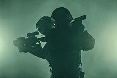 Police officers SWAT Stock Images