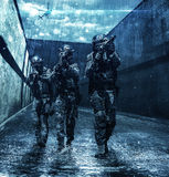 Police officers SWAT Royalty Free Stock Images
