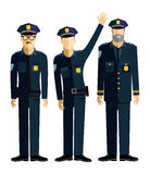 Police officers Royalty Free Stock Images