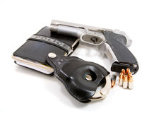 Police officers tools stock image