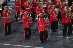 Police Orchestra Abu Dhabi Royalty Free Stock Photo