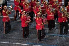Police Orchestra Abu Dhabi Royalty Free Stock Photo