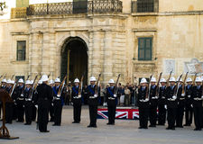 Police Parade Royalty Free Stock Images
