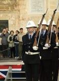 Police Parade Royalty Free Stock Image