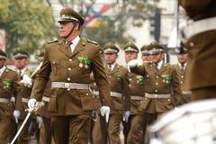 Police Parade Royalty Free Stock Photo