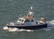 Police patrol boat Stock Image
