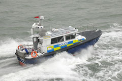 Police patrol boat Preventer Royalty Free Stock Photo