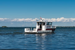 Police Patrol Boat Royalty Free Stock Photography