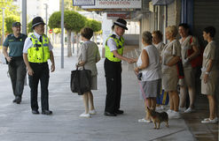 Police patrol 029 Stock Images