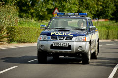 Police patrol car, England, UK Royalty Free Stock Photo