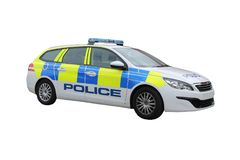 Police Patrol Car. Royalty Free Stock Photo
