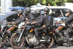 Police patrolled Stock Photos