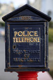 Police Phone Stock Photo