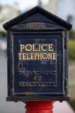Police Phone Stock Photo