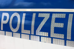 Police polizei Royalty Free Stock Images